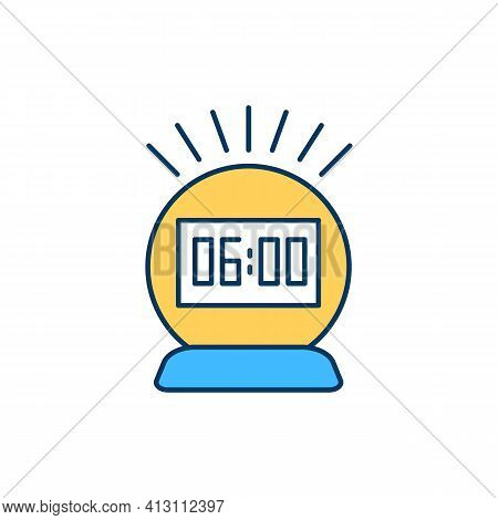 Waking Up At Dawn Rgb Color Icon. Enhancing Productivity. Morning Ritual Creation. Synchronization M