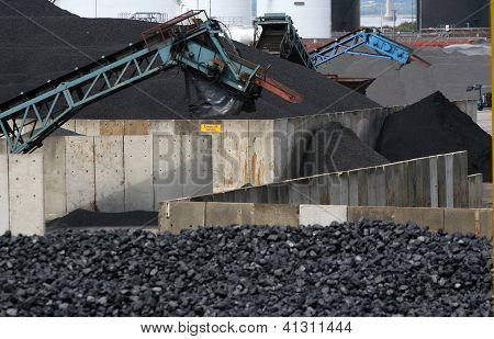 Coal processing facility