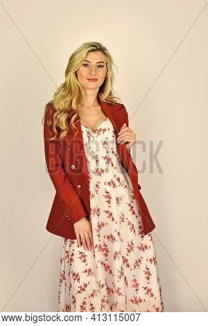 Country Style Summer Collection. Fashion Portrait Pretty Woman. Street Style Concept. Spring Fashion