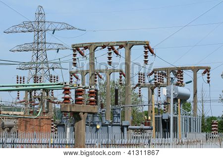 Electricity generation substation