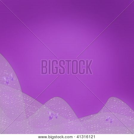 Beautiful Purple Abstract Background To The Holiday With Space For Text