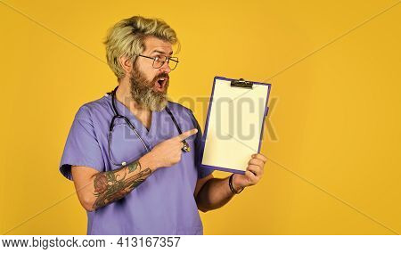 Treatment Protocols. Treatment Relieve Symptoms Body Fights Infection. Hospital Treatment. Man Beard