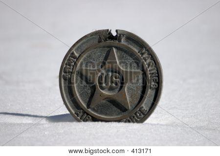 Objekt - militärische Medaille