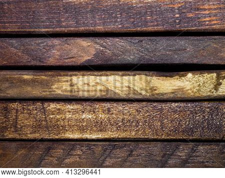 Wood Texture For The Background.the Boards Are Brown.