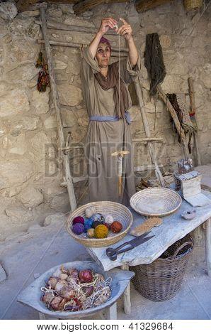 Palestinian Weaver