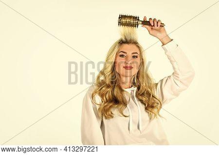 Hairdresser Salon. Professional Equipment. Beauty Supplies Shop. Curling Your Hair Much Easier. Hot