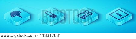 Set Isometric Light Emitting Diode, Led Light Bulb, Electric Light Switch And Electrical Measuring I
