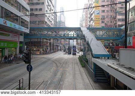 The Street View At Causeway Bay Hong Kong 12 Nov 2006