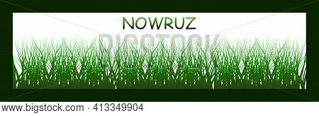 Happy Persian New Year (nowruz) Vector Illustration. Greeting Card, Poster And Banner.