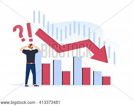 Invest In The Companys Bonds Fail. Inexperienced Minor Shareholder. Stock Market Crash. Frustrated Y