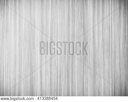 The Softness Of Ply Stripes Plywood Surface For Background. Black And White Background Old Plywood T