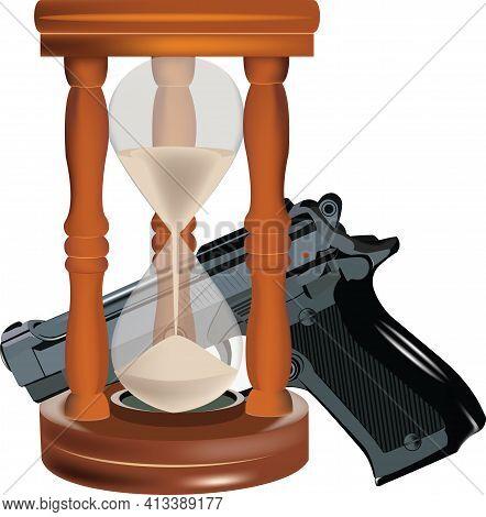 Hourglass And Gun Hourglass And Gun Hourglass And Gun Hourglass And Gun