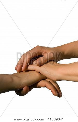 Hands Symbolizing Power