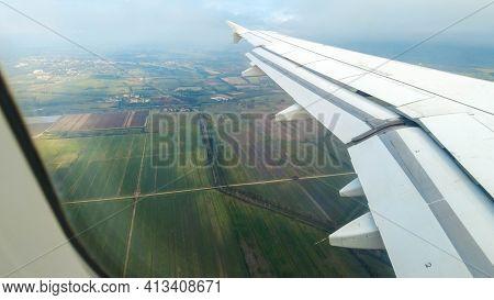 Passenger Aircraft Landing