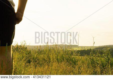 short pants in high grass - tick danger