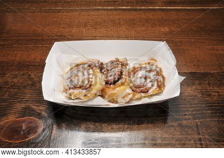 Delicious And Delectable Dish Known As The Cinnamon Roll