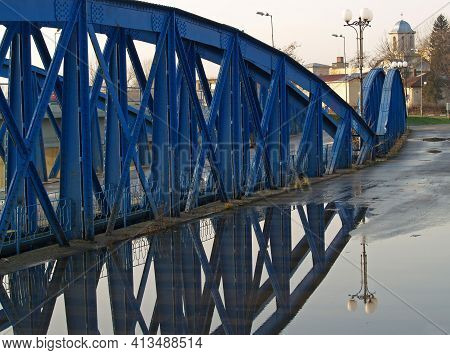 Reflections On Bizetz Bridge Is The First Curved Bridge In A Horizontal Plane Built In Europe. Was B