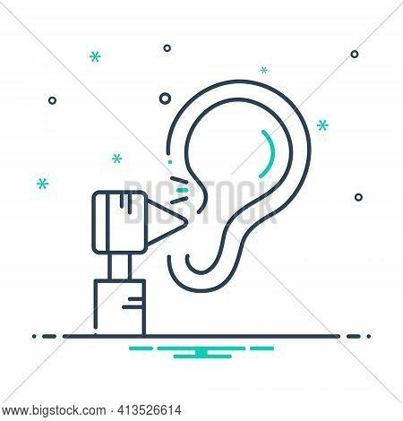 Mix Icon For Otology Otolaryngologist Applicator Hearing-treatment