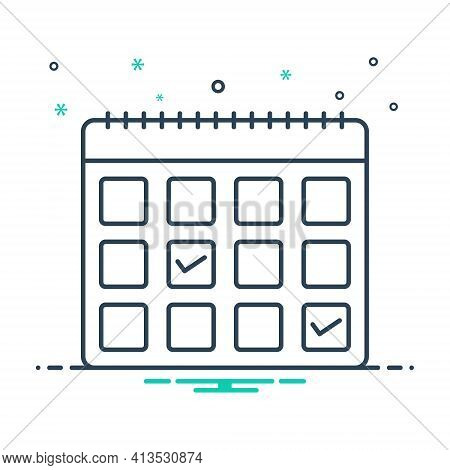 Mix Icon For Appointment-request Appointment Request Calendar