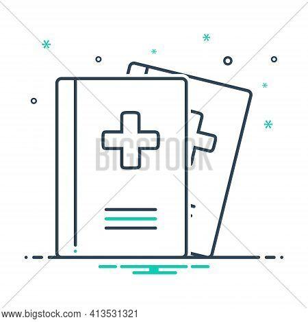 Mix Icon For Medical-journals Medical Journals Presentation Magazine