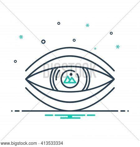 Mix Icon For Visualization  Visual  Imagine Scene Chimera