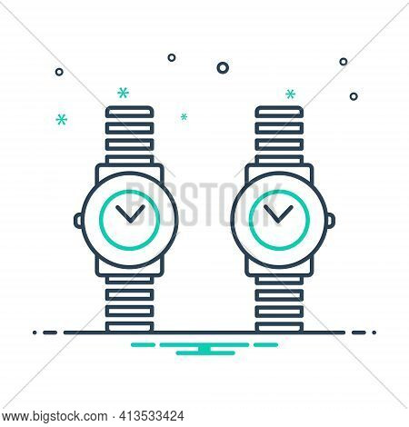 Mix Icon For Brand-design  Brand Design Branding Wrist-watch
