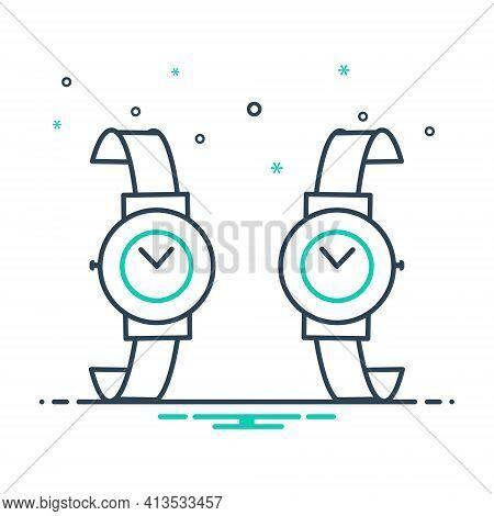 Mix Icon For Brand-design  Brand Design Wrist-watch Branding