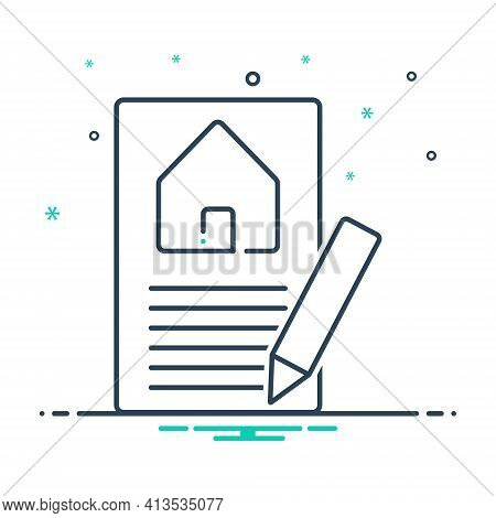 Mix Icon For Property-valuation Property Home Real-estat Evaluation Appraisal Insurance