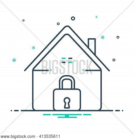 Mix Icon For Home-security Home Security Safe-home  Secure
