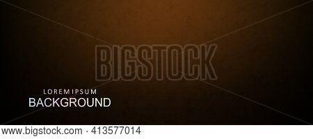 Dark Brown Background With A Gradient Depicting A Fine Texture Of Abstract Oval Shapes