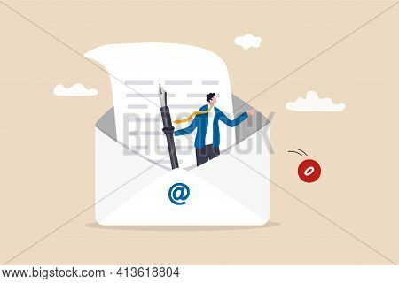 Writing Email Like Professional, Email Communication For Best Business Negotiation, Storytelling Or