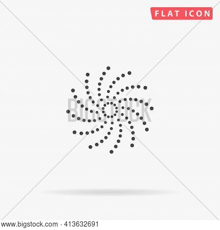 Phyllotaxis Flat Vector Icon. Hand Drawn Style Design Illustrations.