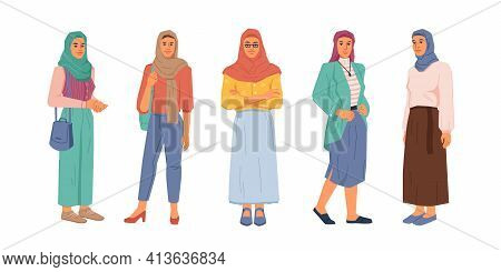 Modern Muslim Women Fashion Style, Uae Citizen