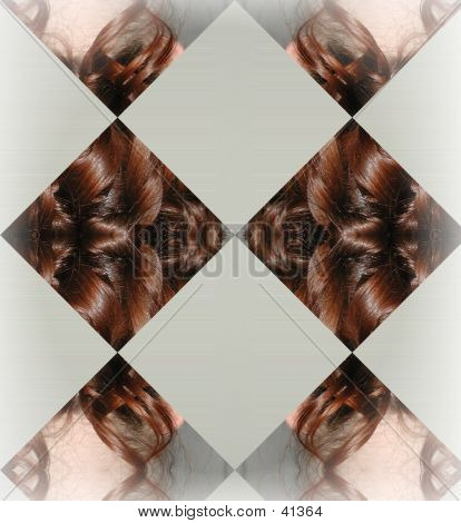 Hair Abstract Background