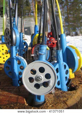ice fishing equipment