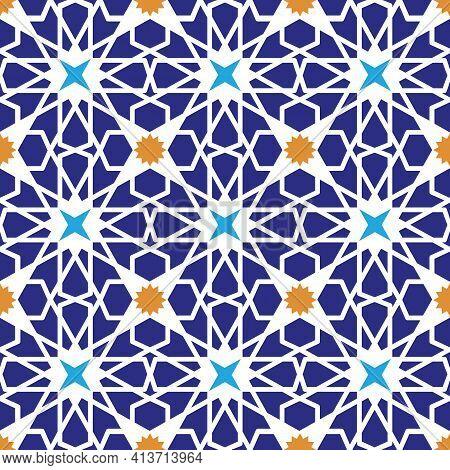 Seamless Pattern.vector Abstract Background.arabic Islamic Motif,geometrical Ornament.vector Muslim,