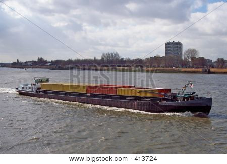 Inland Navigation, Container Ship
