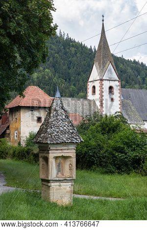 Griffen Monastery in Carinthia region, Austria