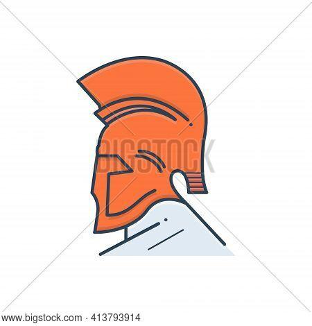 Color Illustration Icon For Greek-god Egypt  Mythology  Greek Goddess