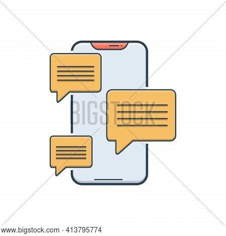 Messaging App Send Word Chat Smartphone Chattingmessaging App Send Word Chat Smartphone Chatting