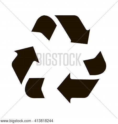 Environmental Industry Icon Glyph Icon Vector. Environmental Industry Icon Sign. Isolated Symbol Ill