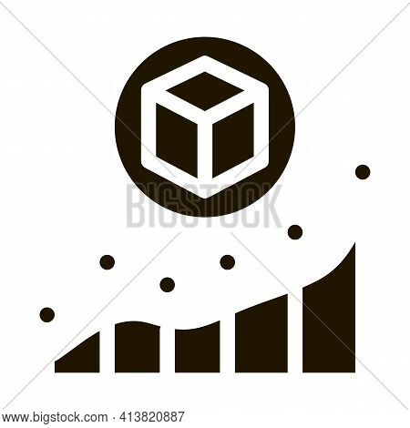 Parcel Pick-up Points Glyph Icon Vector. Parcel Pick-up Points Sign. Isolated Symbol Illustration