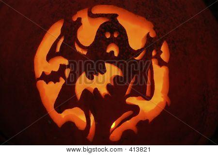 Saison-Halloween-Kürbis