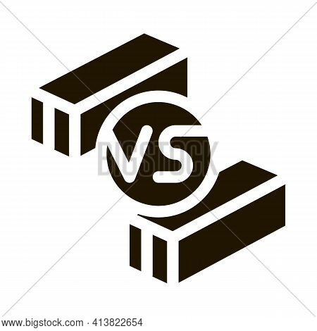 Trade War Products Glyph Icon Vector. Trade War Products Sign. Isolated Symbol Illustration