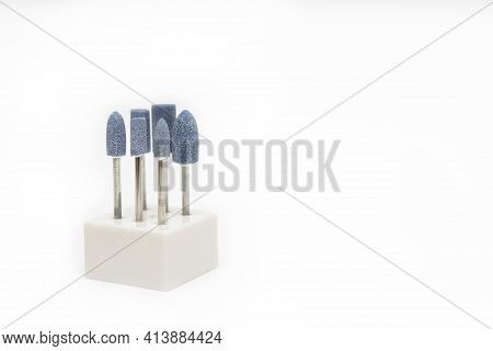 Cutters For Hardware Manicure And Pedicure. Accessories And Manicure Nail Tool. Milling Cutter For M