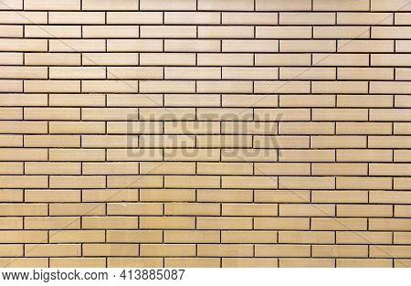 Brick Wall Background Texture. Building Wall Facade, Masonry,