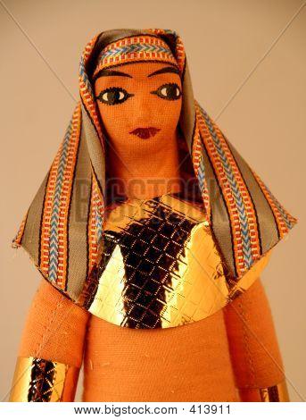 Arab Bedouin Woman Doll
