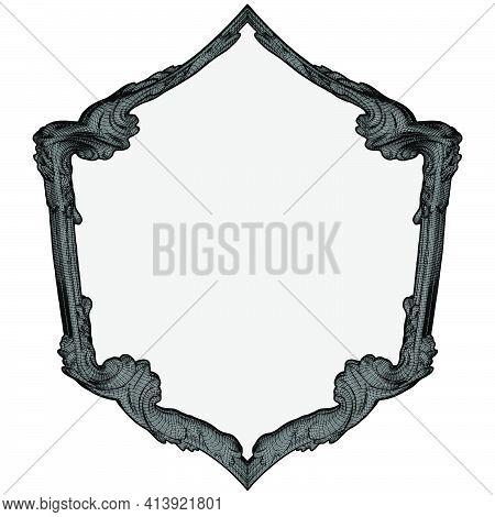 Gothic Frame Vector 03.eps