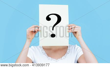 Female Incognita. Girl Question Anonymous Incognita Question Mark. Anonymous, Woman Question, Incogn