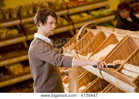 Young Man Shopping